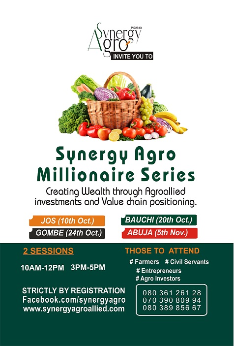 Synergy Agro Millionair Series Workshop